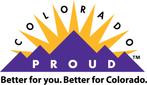 colorado proud Logo tagline